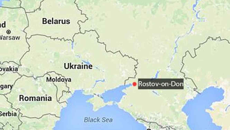 accidente avión Rostov