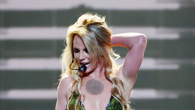 Britney Spears en Planet Hollywood en 2016