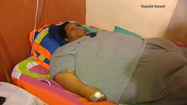 Oscar Vázquez es el más obeso de Colombia
