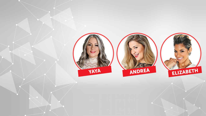 Yaya, Andrea y Elizabeth son las nominadas en la semana 11 de Gran Hermano