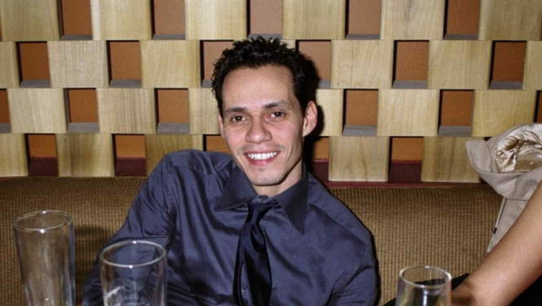 Marc Anthony antes de concierto