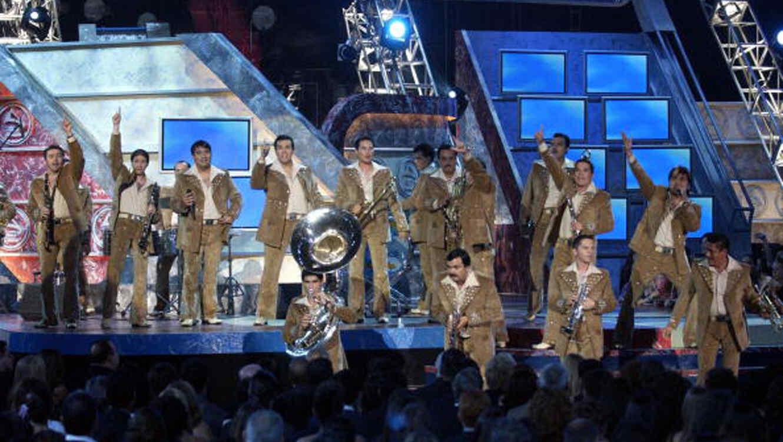 Banda MS Sinaloense de Sergio Lizárraga en los Latin Grammys 2003