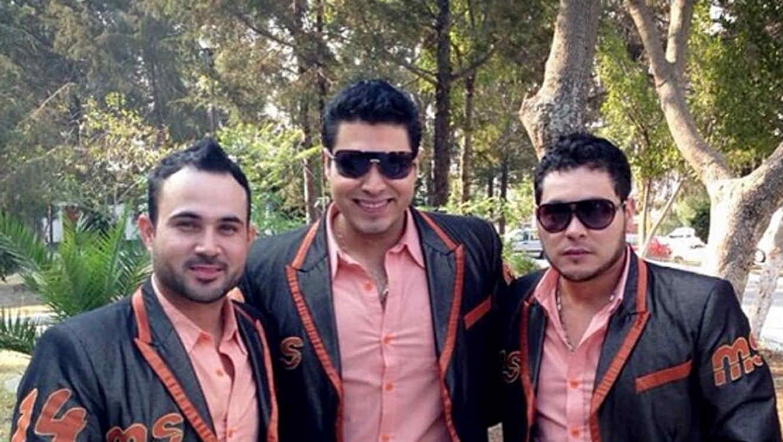 Banda Sinaloense MS de Sergio Lizárraga foto de Instagram en el de Oswaldo Silvas 2013