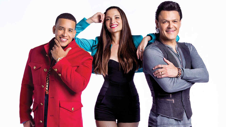 Foto de los coaches en la cuarta temporada de La Voz Kids