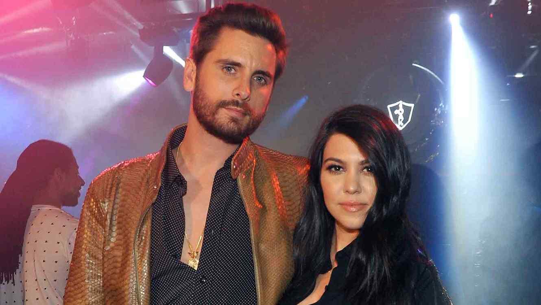 Kourtney Kardashian y Scott Disick en Oak Nightclub en el hotel Mirage
