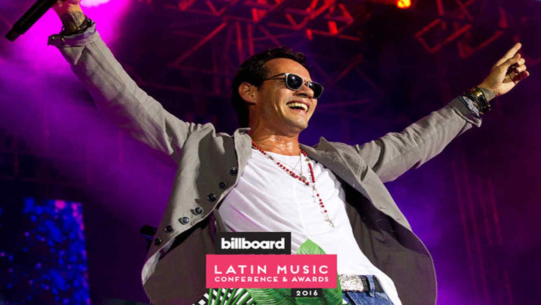 """Marc Anthony en su 'Cambio de Piel World Tour' en el Auditorio Municipal """"Cortijo de Torres"""" en Malaga, España"""