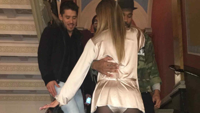 Trasero de Mariah Carey en Suecia