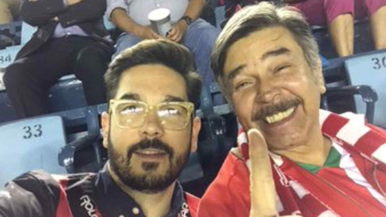 Jorge Ortíz de Pinedo y su hijo Pedro Ortíz de Pinedo