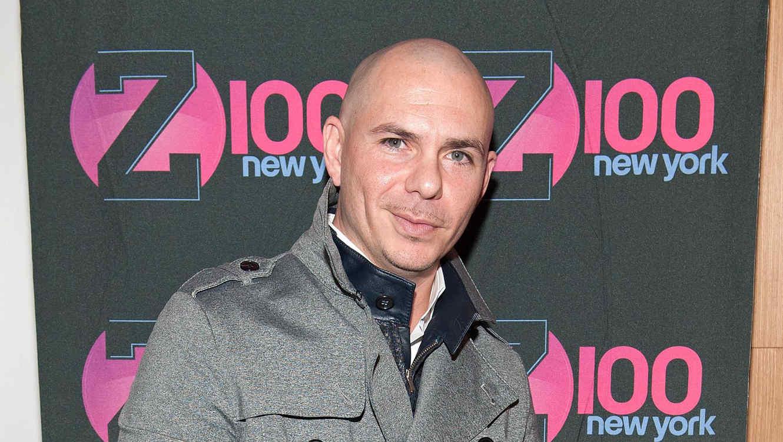 "Pitbull visita ""The Elvis Duran Z100 Morning Show"" en New York City"