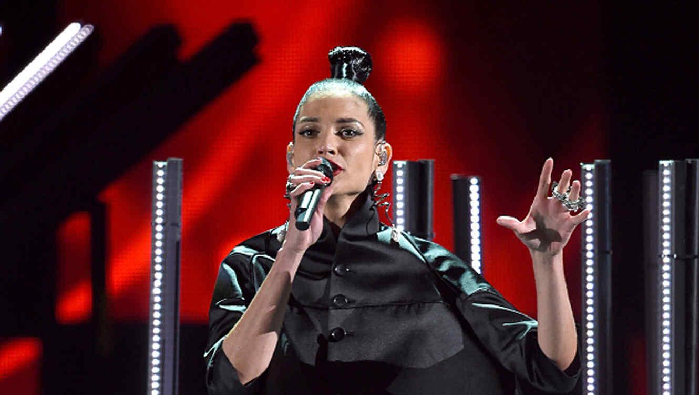 Natalia Jiménez en los Latin Grammys 2016