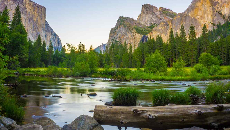 Paisaje Yosemite National Park