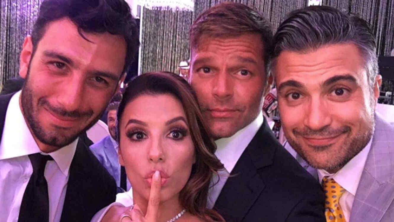 Famosos invitados a la boda de Eva Longoria y Pepe Bastón | Telemundo