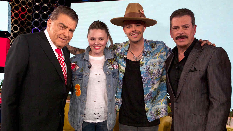 Don Francisco, Jesse y Joy y Sergio Goyri