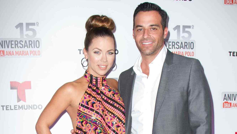 Ximena Duque y Jay Adkins en el aniversario de Caso Cerrado