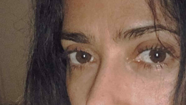Salma Hayek publica una foto sin maquillaje