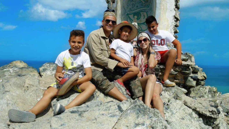 Silvestre Dangond y familia