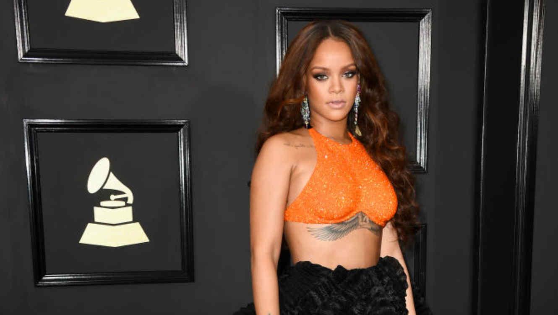 ea1cb649be Rihanna se desnudó para recrear la famosa escena de la ducha en ...