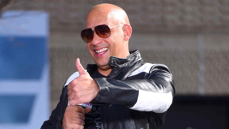 Vin Diesel en la premier de