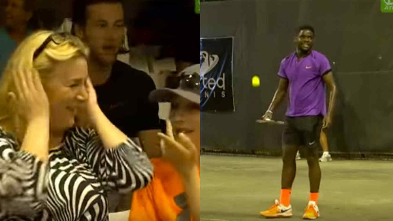 Cancelan partido de tenis por ruidos de sexo
