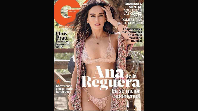 Ana de la Reguera en la portada de la revista GQ