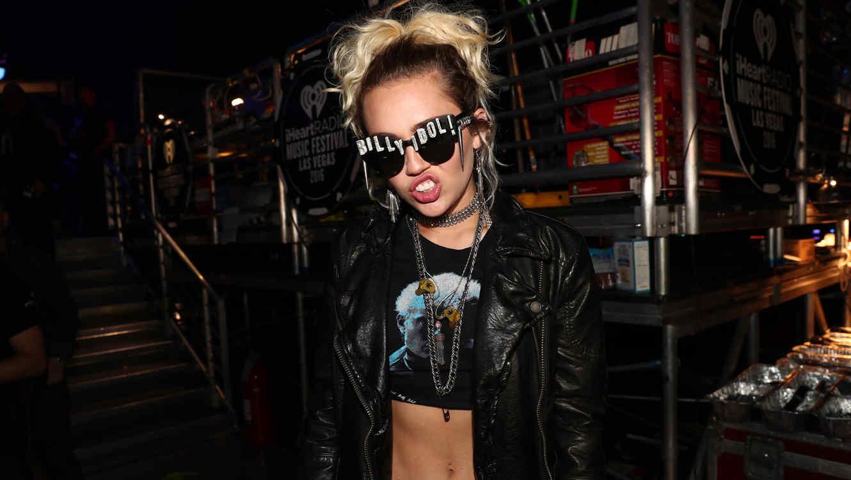 Miley Cyrus en el iHeart Radio Festival 2016