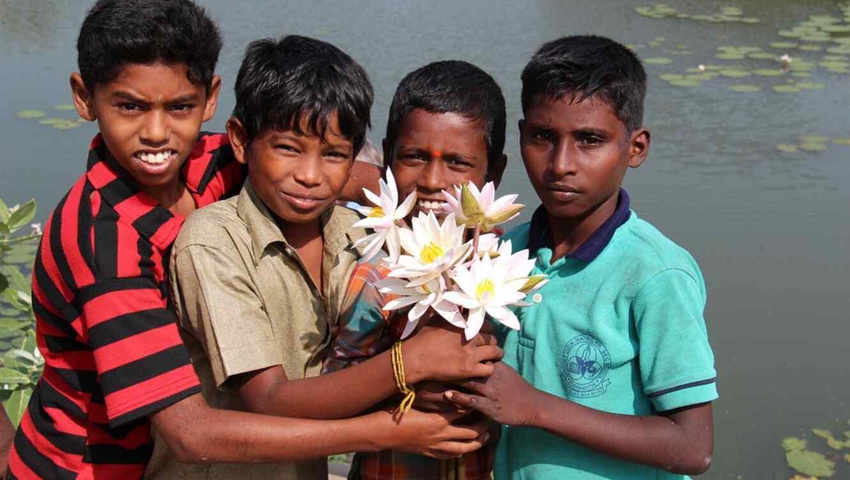 Jóvenes de la India