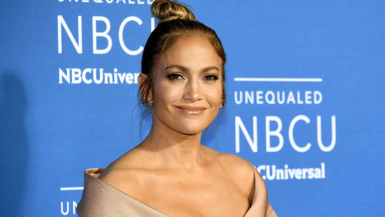 Jennifer Lopez en el Upfront de NBCU