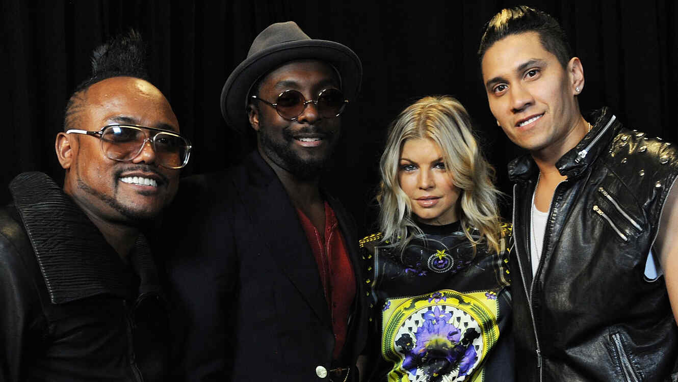 Black Eyed Peas y Robbie Williams a concierto en Manchester
