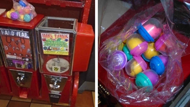 No era droga lo que encontró el niño en máquina expendedora
