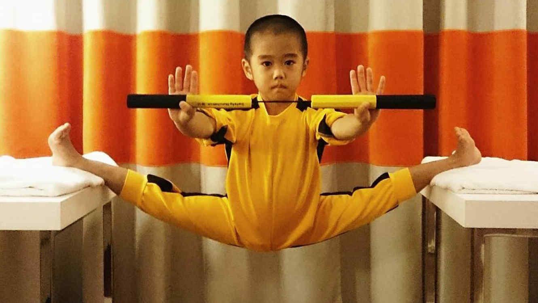 El Baby Bruce Lee te sorprenderá.