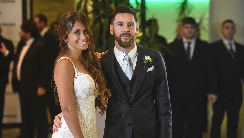 Boda de Leo Messi con Antonella Roccuzzo