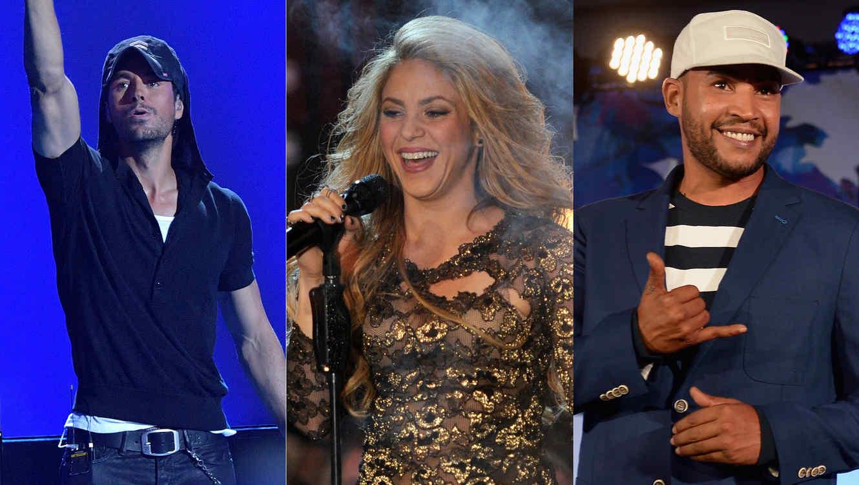Enrique Iglesias, Shakira, Don Omar