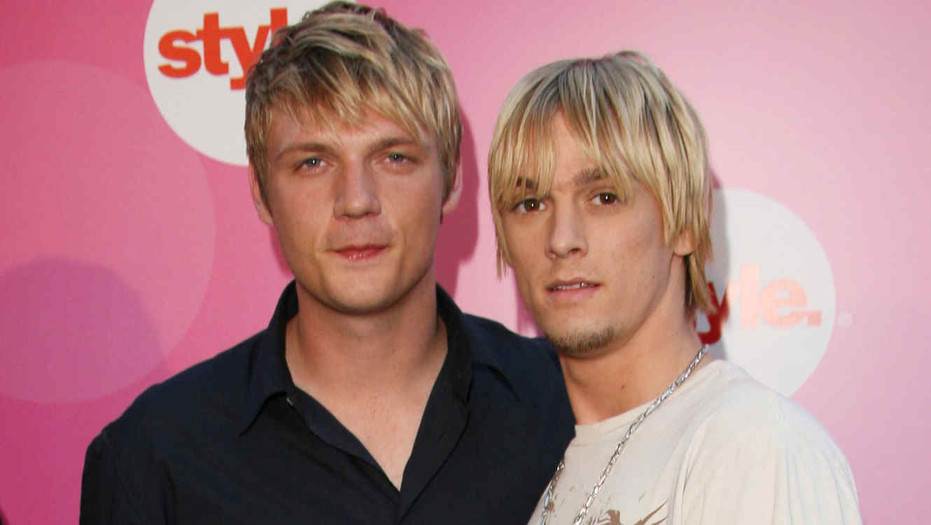 Nick & Aaron Carter Style Network Party At The Summer TCA Tour - Arrivals
