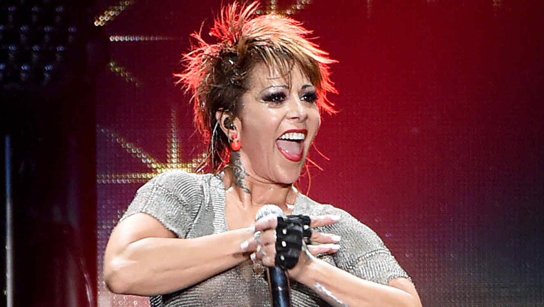 Alejandra Guzmán en la iHeartRadio Fiesta Latina de 2014
