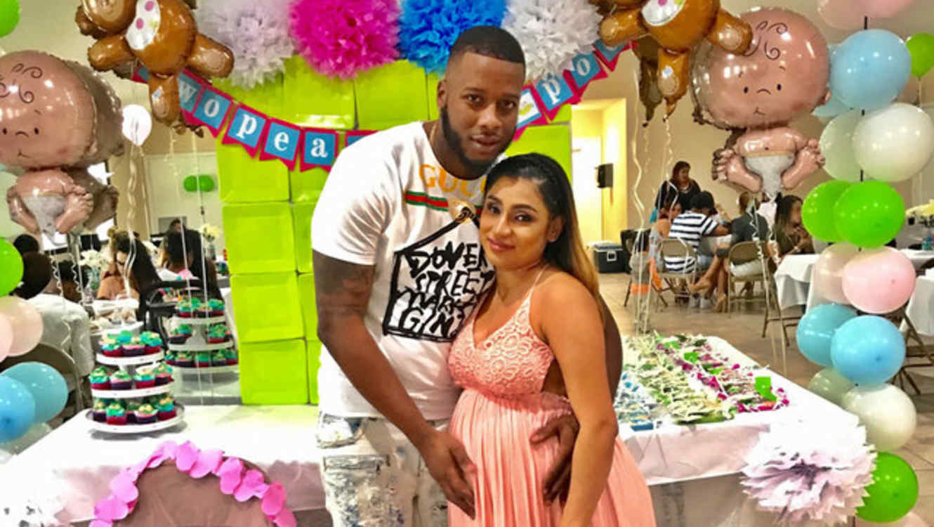 Jevaughn Suckoo and Stephanie Caceres baby shower