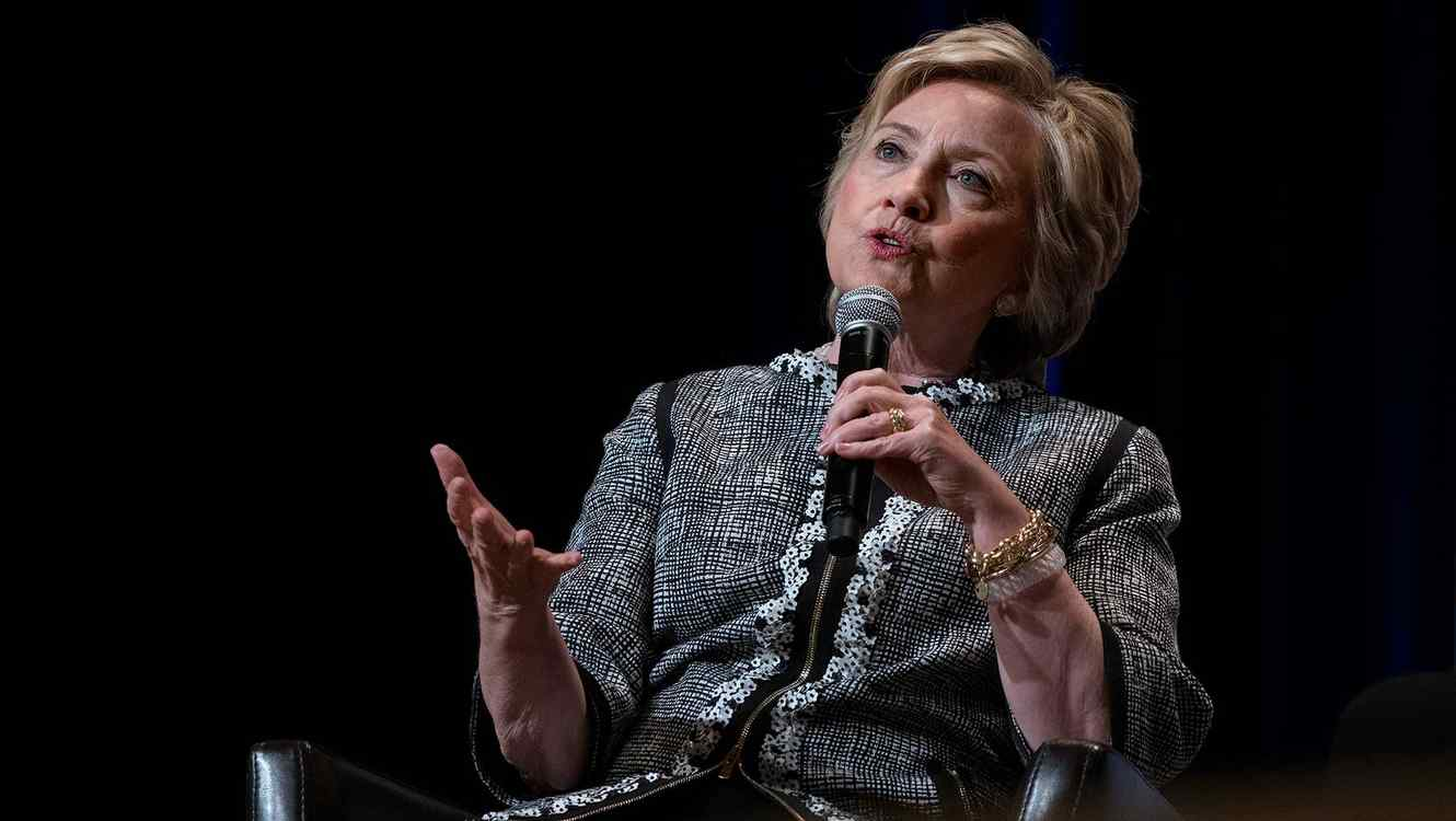 Hillary Clinton en el 'Book Expo' en New York el 1 de junio del 2017