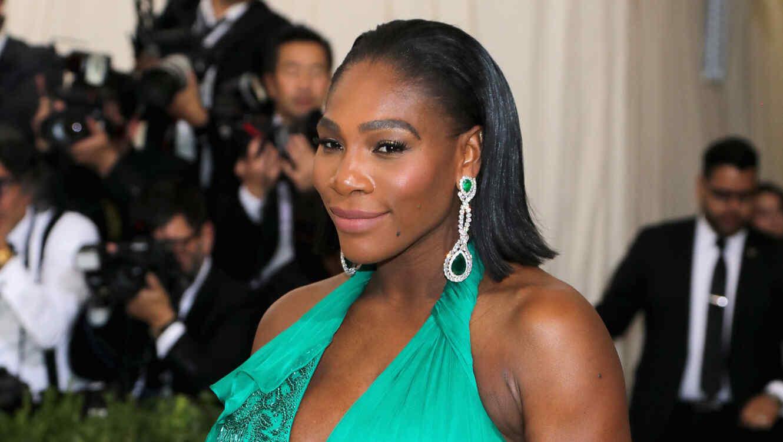 Serena Williams en la Met Gala 2017