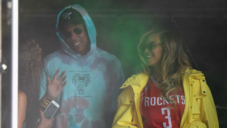 Jay-Z le dio una felicitación muy emotiva a su esposa Beyoncé