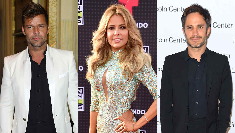 Ricky Martin, Gloria Trevi, Gael García