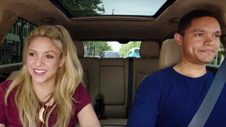Shakira hizo una imprudencia como copiloto