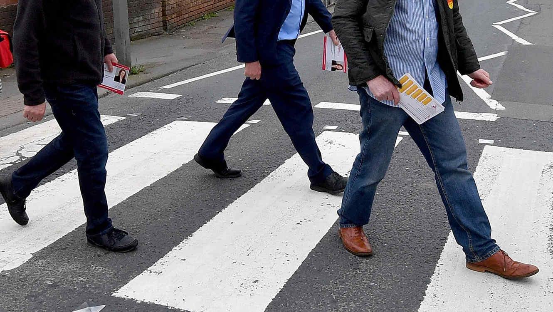 Ilusiones ópticas para que los automovilistas respeten los pasos de cebra