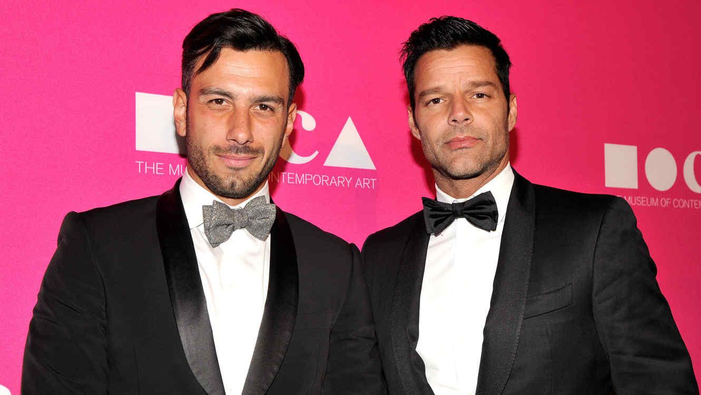 Ricky Martin con Jwan Yosef, abril 2017