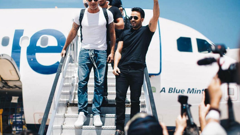 Luis Fonsi, Ricky Martin, Nicky Jam y Chayanne aterrizan en Puerto Rico.
