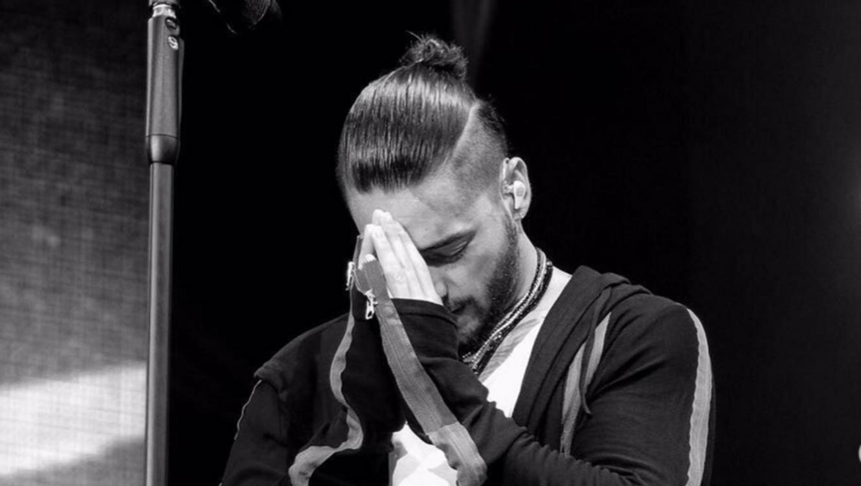 Maluma durante su gira europea.