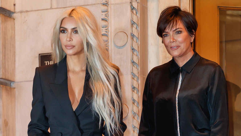 Resultado de imagen para kris jenner y kim kardashian