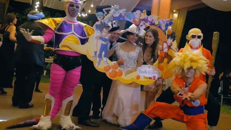 Dragon Ball boda