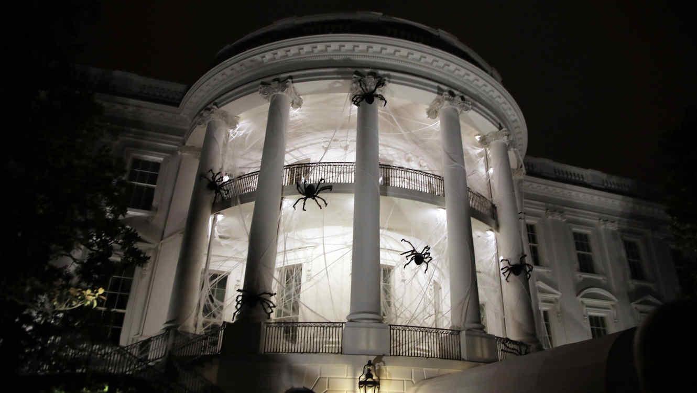 As decor obama la casa blanca por halloween y as la - Fotos de la casa blanca por fuera ...