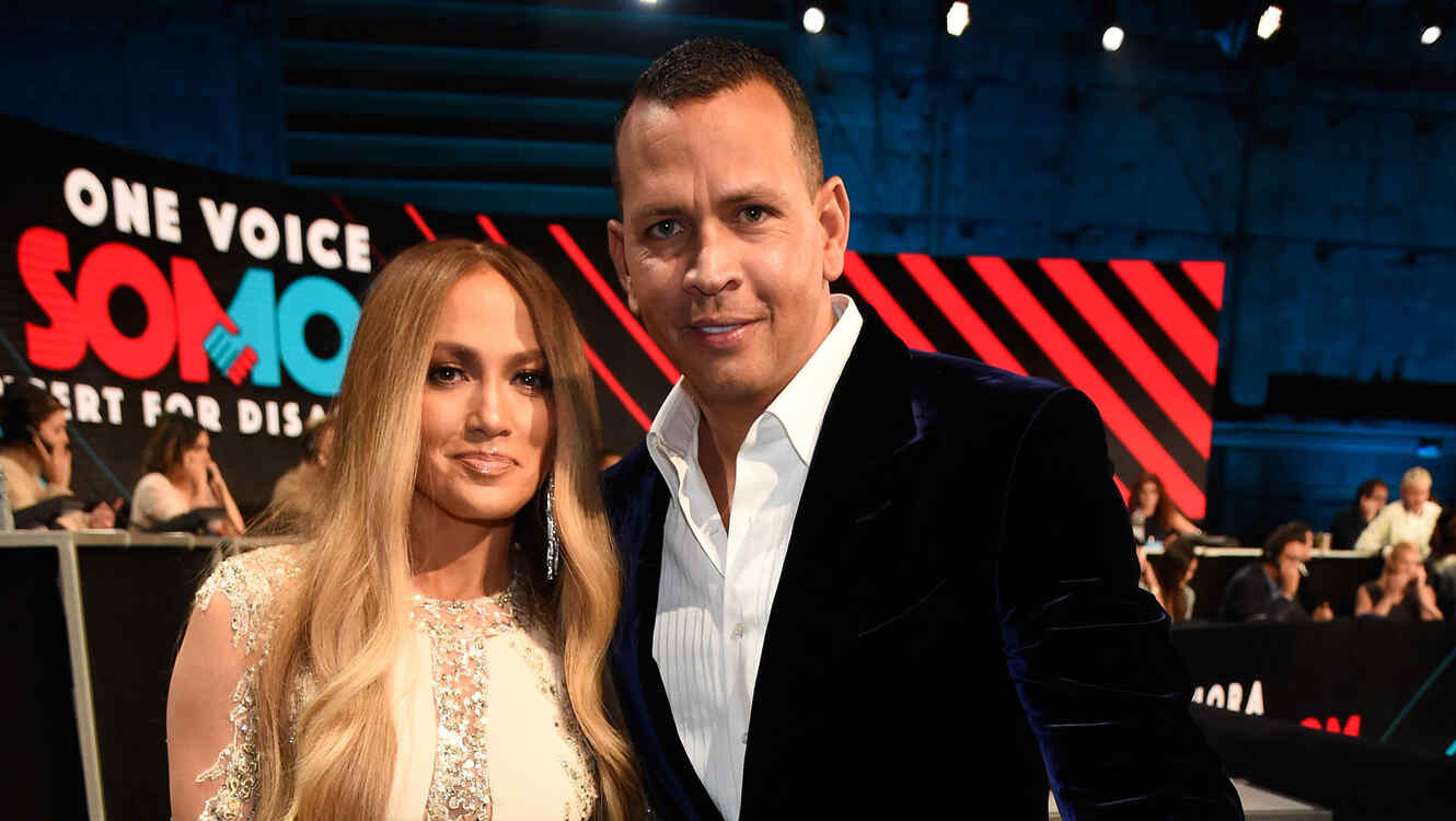 Jennifer Lopez y Alex Rodriguez en One Voice: Somos