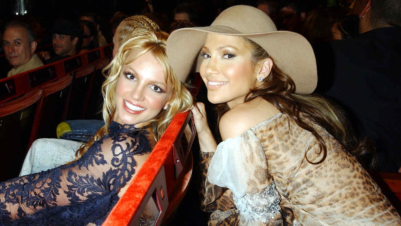 Jennifer Lopez y Britney Spears, MTV Video Music Awards 2001