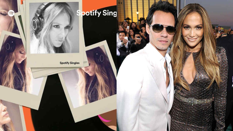 "Jennifer Lopez covers Marc Anthony's ""Vivir Mi Vida"""